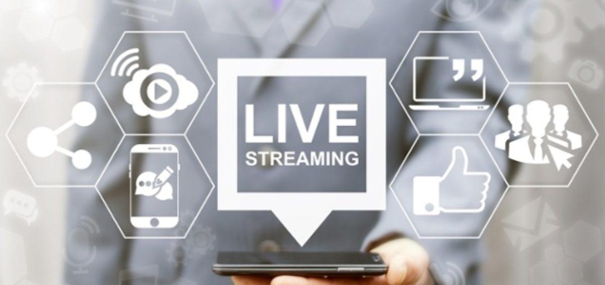 live social media content